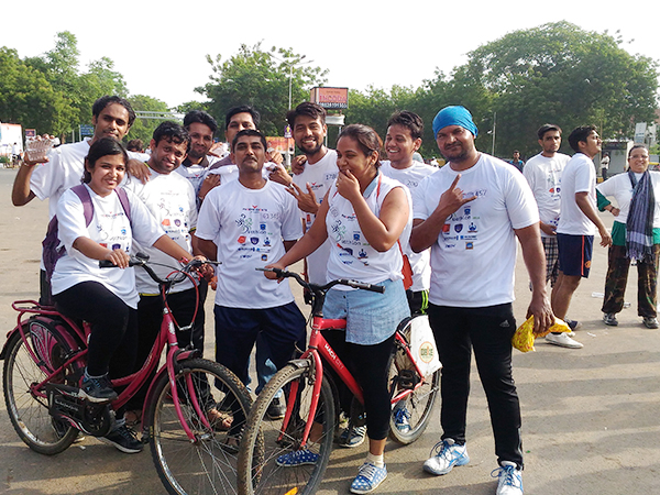 10 Km Duathlon for a Social Cause