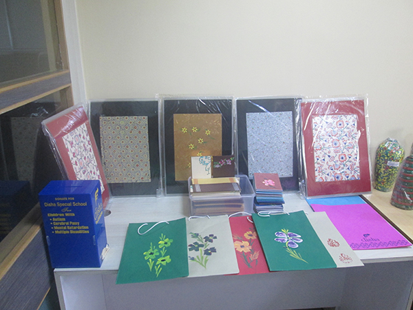 Handicrafts Exhibition from Disha Charitable Trust
