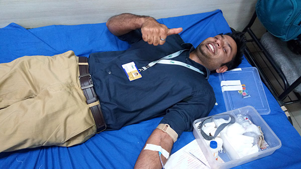 Blood Donation Camp @ Vadodara