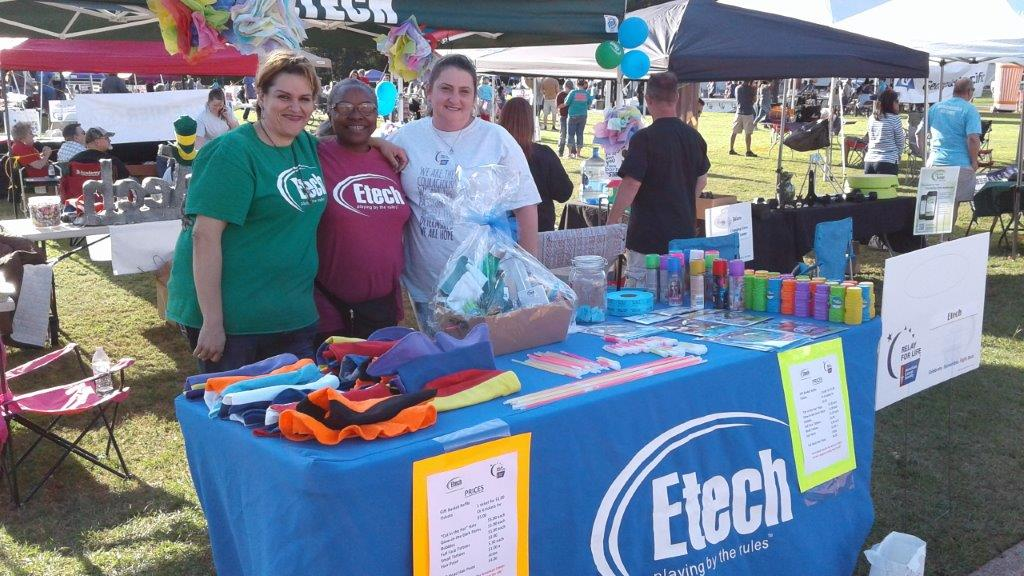 Relay for life, Etech Lufkin