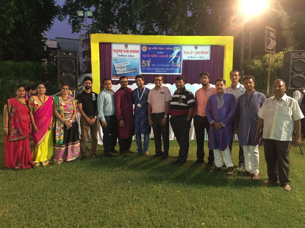 Etech Give Back Program – Garba – Mook Badhir Mandal