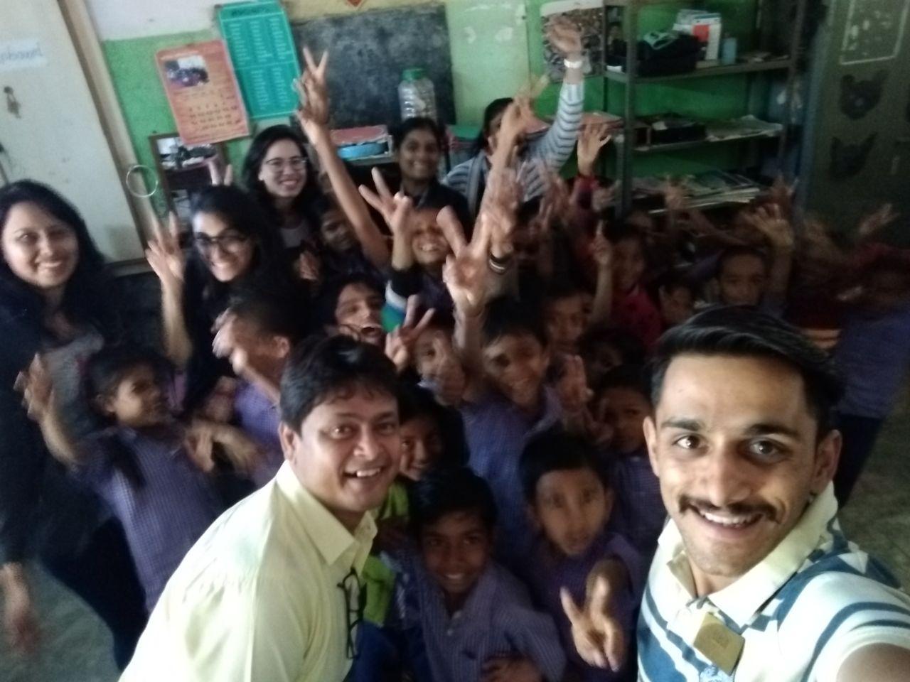 Rampura Primary School to celebrate Christmas – Etech Gandhinagar