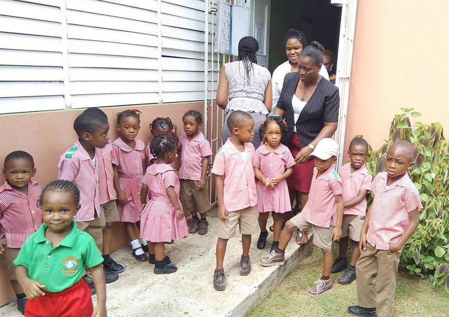 Etech Give Back Program – Geneva Basic School Visit