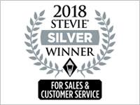 2018, Stevie Awards for Sales & Customer Service