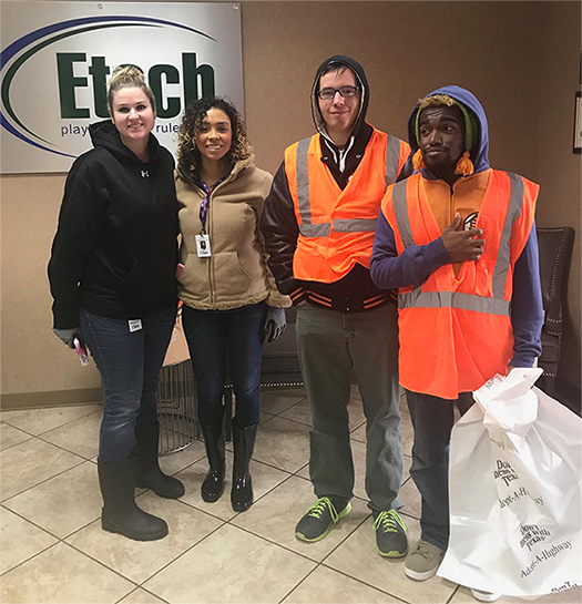 Etech Give Back Program – Adopt a Highway, Nacogdoches