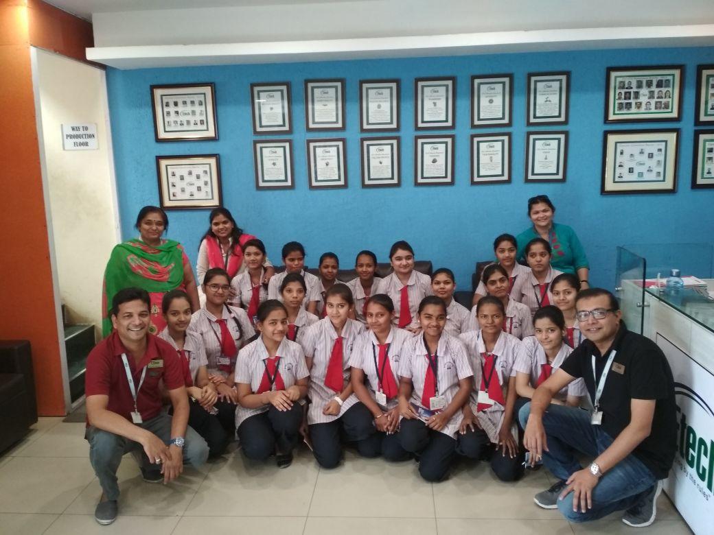 Etech Give Back Program – NavKaushalya Team Visit