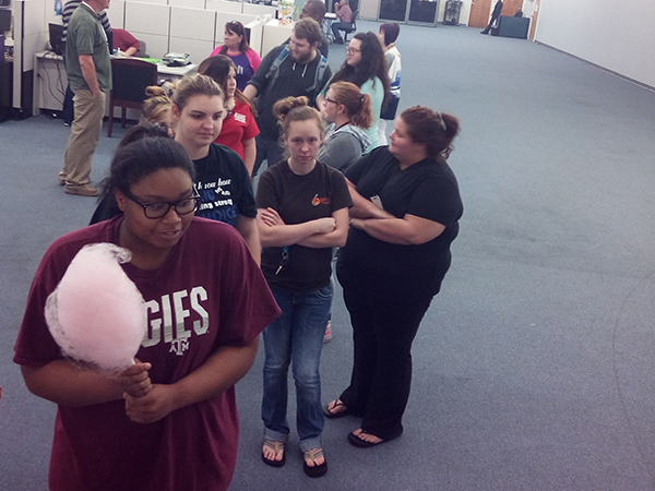 Etech Rusk Celebrated Cotton Candy Day