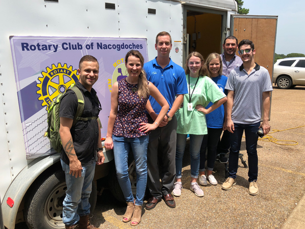 Etech Give Back Program with Nacogdoches Rotary and Nacogdoches Boys & Girls Club