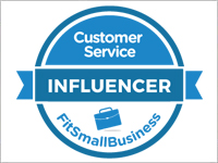2018, Top Customer Service Influencer on Fit Small Business
