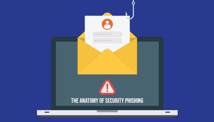 The Anatomy of Security Phishing