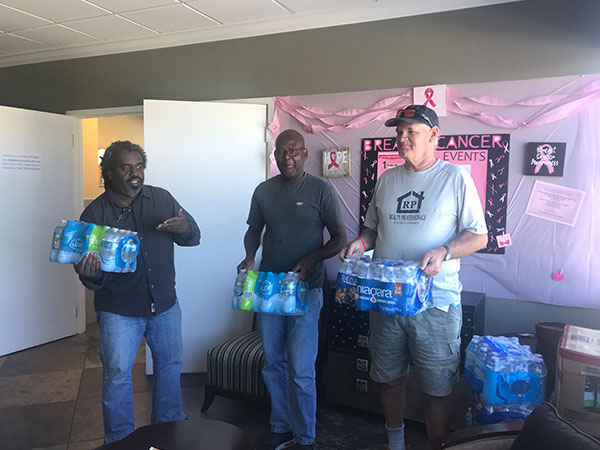 Etech Give Back Program – Water Drive at Palm Beach!