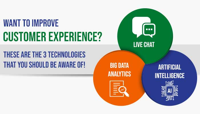 Want to improve Customer Experience? These are the 3 Technologies that you should be aware of!
