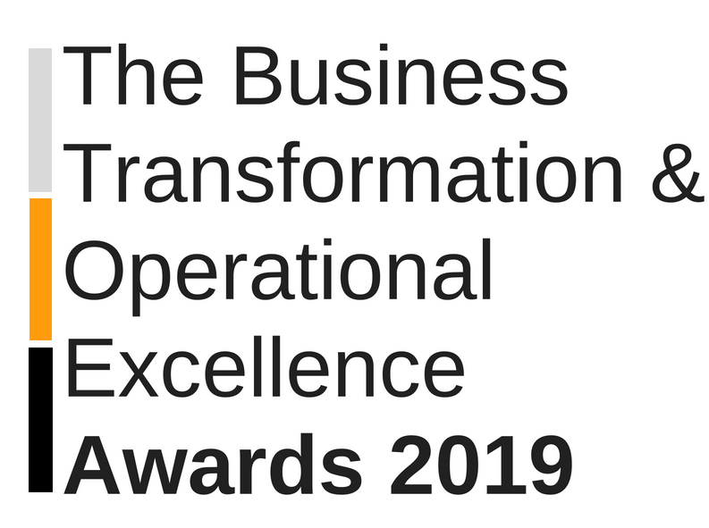 2019, Business Transformation & Operational Excellence Industry Awards
