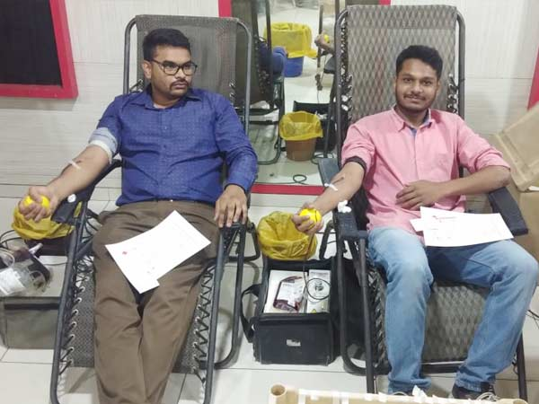 Etech Give Back Program – A Successful Blood Donation Camp at Gandhinagar Center