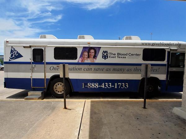 Etech Give Back Program- Blood Donation at Lufkin