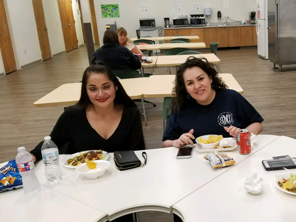 Etech Give Back Program- Lunch Fundraising at Lufkin