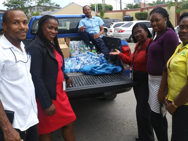 Etech Give Back Program – Water Drive at Montego Bay